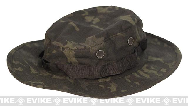 Tru-Spec Tactical Response Uniform Boonie Hat - Multicam Black (Size: 7-3/4)