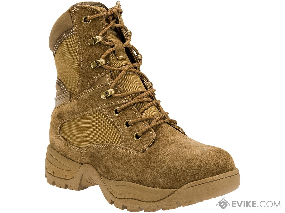 Tru-Spec Tactical Side Zipper Boots - Coyote (Size: 8)
