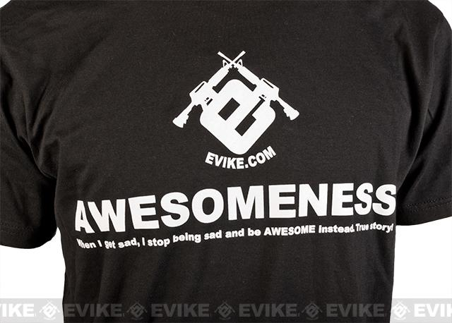 Evike.com Awesomeness Tshirt - Black (Size: Medium)