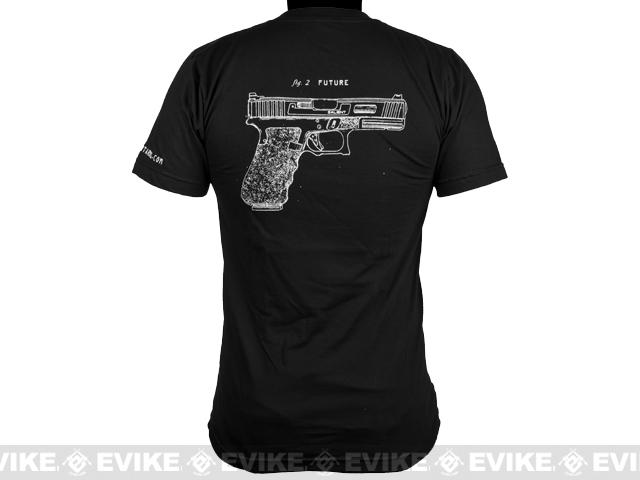 Salient Arms Raygun Cotton Tshirt - Black (Size: XX-Large)