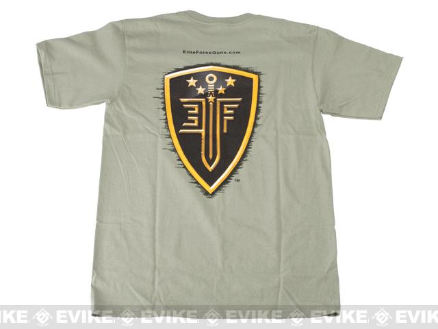 z Elite Force T-shirt - Cactus Green - Size: XL