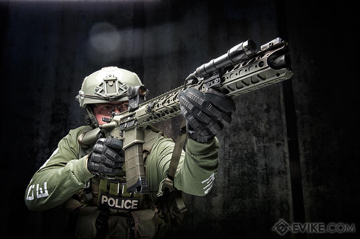 Mechanix Wear Breacher Covert Tactical Gloves - Black (Size: X-Large)