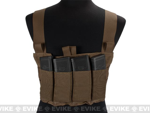 Blue Force Gear Ten-Speed M4 MOLLE Chest Rig - Coyote Brown