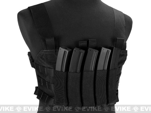 Blue Force Gear Ten-Speed MP7 MOLLE Chest Rig - Black