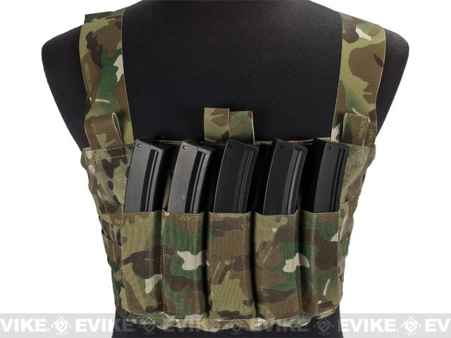 Blue Force Gear Ten-Speed MP7 MOLLE Chest Rig - Multicam