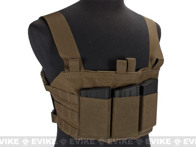 Blue Force Gear Ten-Speed SR25 MOLLE Chest Rig - Coyote Brown