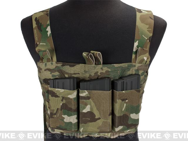 Blue Force Gear Ten-Speed SR25 MOLLE Chest Rig - Multicam