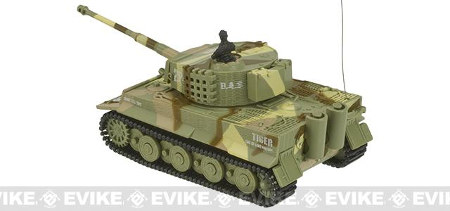 Armor Corps 1:72 Scale RC Battle Tank - Tiger (Color: Desert)