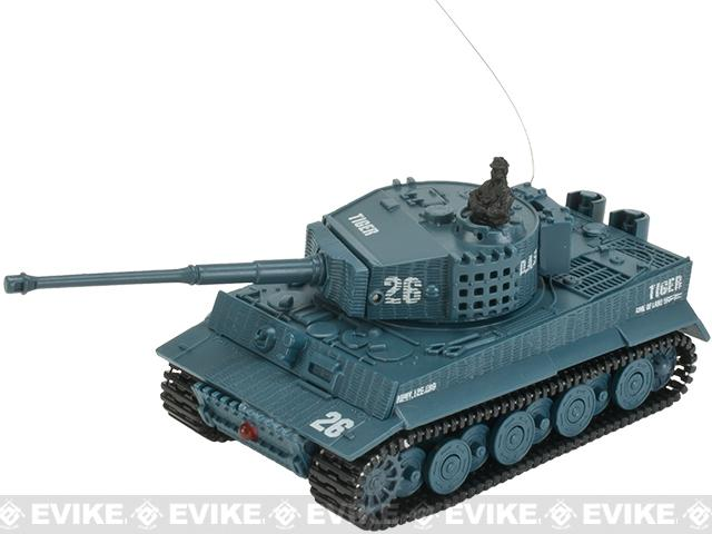 Armor Corps 1:72 Scale RC Battle Tank - Tiger (Color: Panzer Grey)