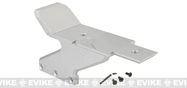 UAC Aluminum C-MORE Mount for 5.1 Hi-Capa Series Airsoft GBB Pistols - Silver