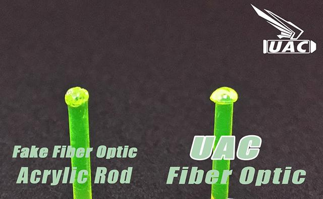 UAC Fiber Optic 1.5mm Rods for Sights - Red