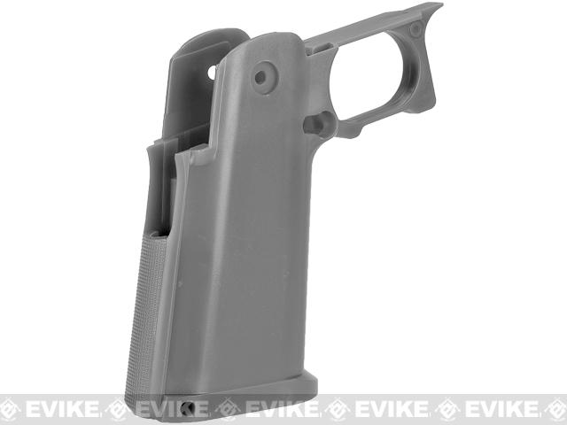UAC Sculptor Grip for TM / WE-Tech Hi-CAPA 5.1 Series Airsoft GBB Pistols - Grey