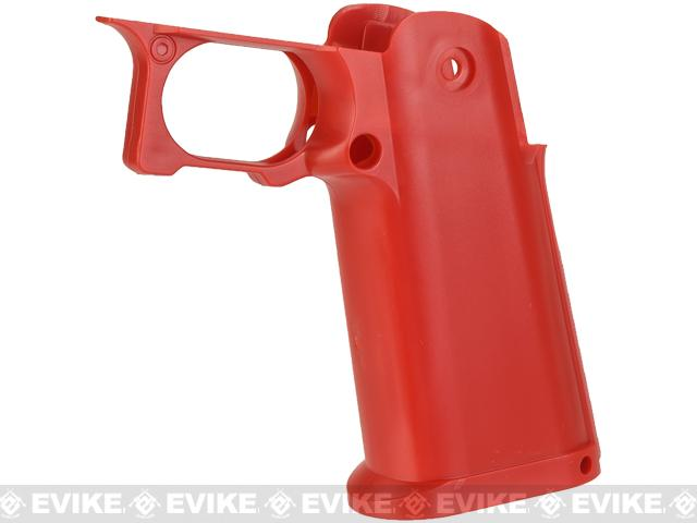 UAC Sculptor Grip for TM / WE-Tech Hi-CAPA 5.1 Series Airsoft GBB Pistols - Red