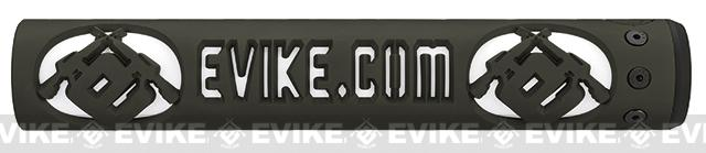 Unique-ARs Evike.com 12 CNC Handguard for M4 & M16 AEG / GBBR / Real AR-15 Rifles � OD Green