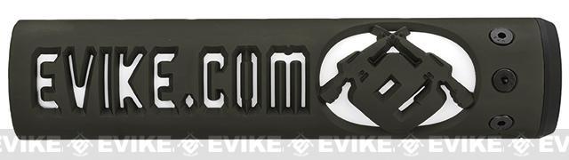 Unique-ARs Evike.com 9 CNC Handguard for M4 & M16 AEG / GBBR / Real AR-15 Rifles – OD Green
