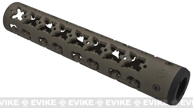 Unique-ARs Femme Fatale 12 CNC Handguard for M4 & M16 AEG / GBBR / Real AR-15 Rifles – Flat Dark Earth