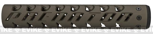 Unique-ARs Predator 12 CNC Handguard for M4 & M16 AEG / GBBR / Real AR-15 Rifles � Flat Dark Earth