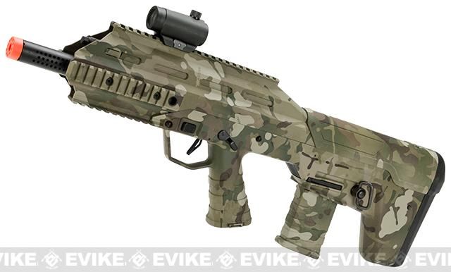 Bone Yard - APS Full Size Urban Assault Rifle Airsoft AEG w/ Metal Gear Box - Water Transfer Camo (Store Display, Non-Working Or Refurbished Models)