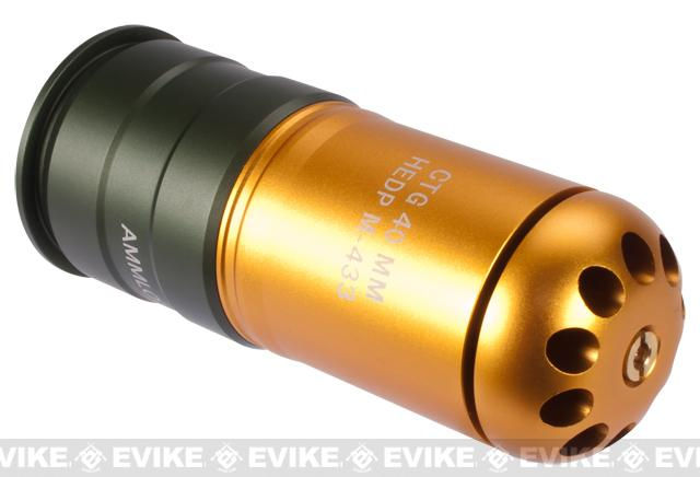 UFC HEDP M433 Type 120rd Airsoft 40mm Gas Grenade Shells (Qty: Single)