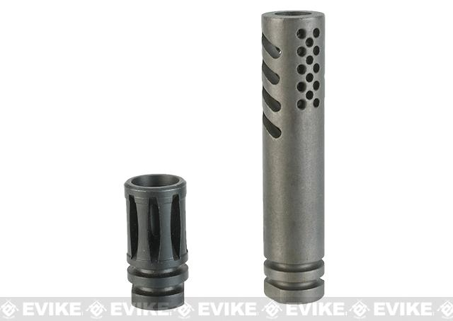 UFC IWI Style Flash Hider - 14mm Positive (CW)