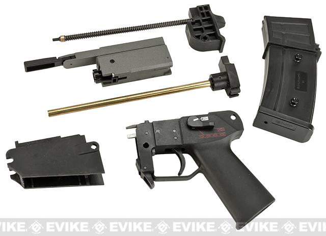Matrix / GHK G36 Airsoft AEG to GBB Complete Gearbox Conversion Kit w/ Magazine