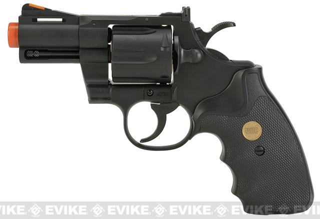 UHC / TSD Heavy Weight 2.5 Airsoft Gas Revolver -  Black