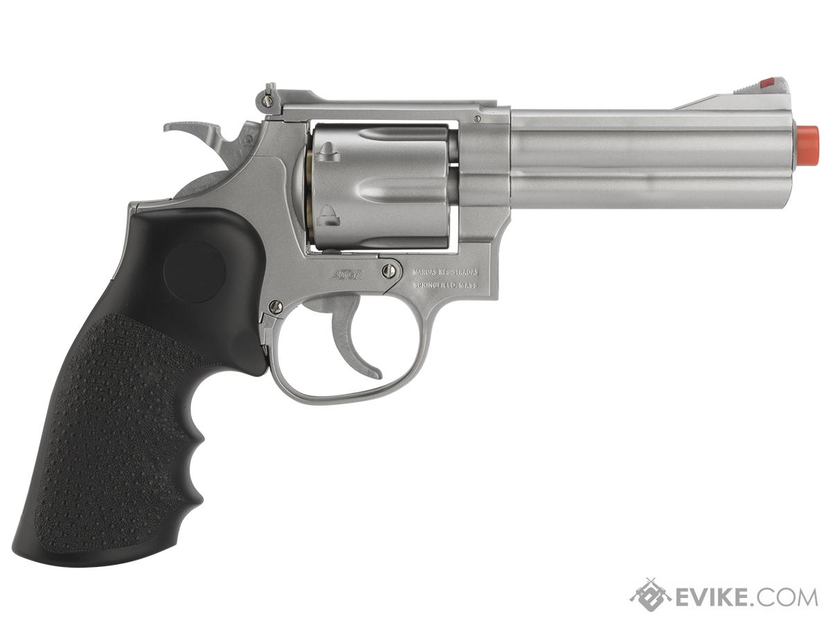 UHC / TSD UA933S Heavy Weight 6 Airsoft Spring Revolver -  Silver