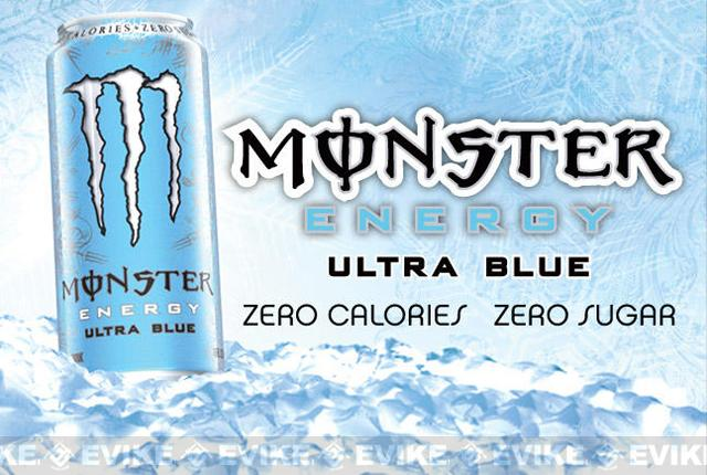 Monster Energy Drink - Ultra Blue