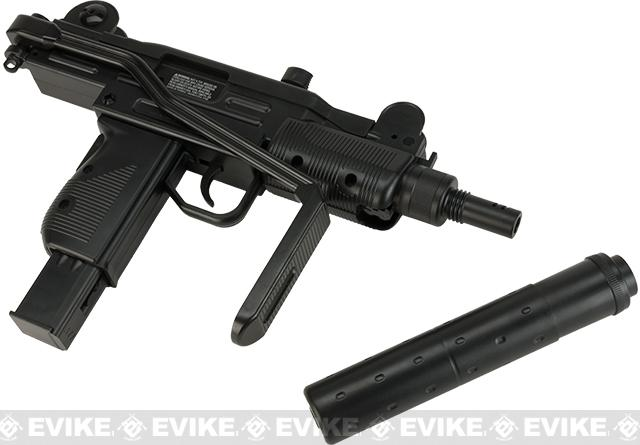 Umarex CO2 Powered 4.5mm Mini Uzi Airgun with Mock ...