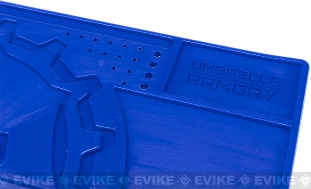 Armorer / Technician Rubber Work Mat by Umbrella Armory - Blue