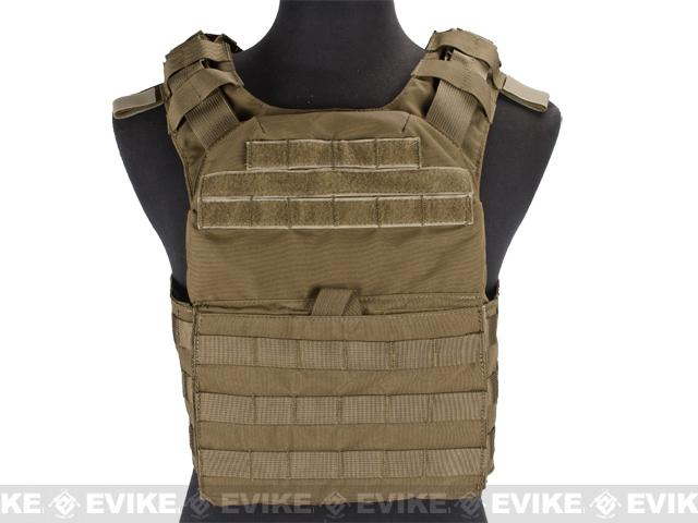 z Condor Cyclone Lightweight Plate Carrier - Tan