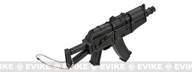 Evike.com 3.75GB USB AK-74U Keychain - Black