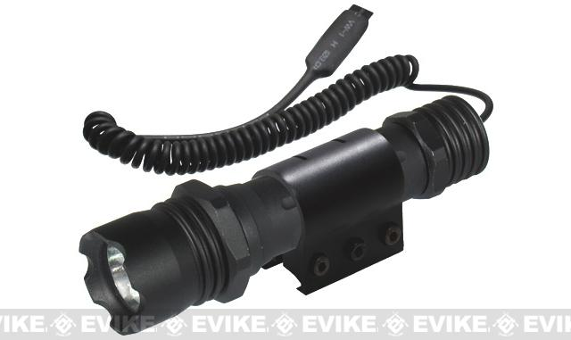 UTG Combat 26mm IRB LED Flashlight, with Weaver Ring