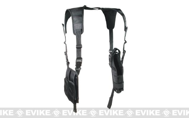 UTG Deluxe Vertical Shoulder Holster - Black