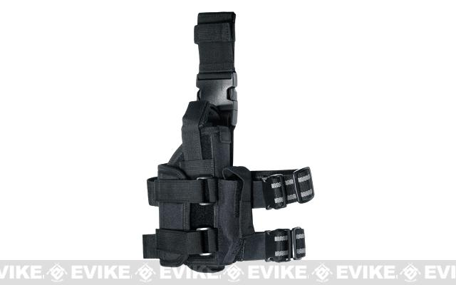 UTG Extreme Ops 188 Tactical Leg Holster - Black