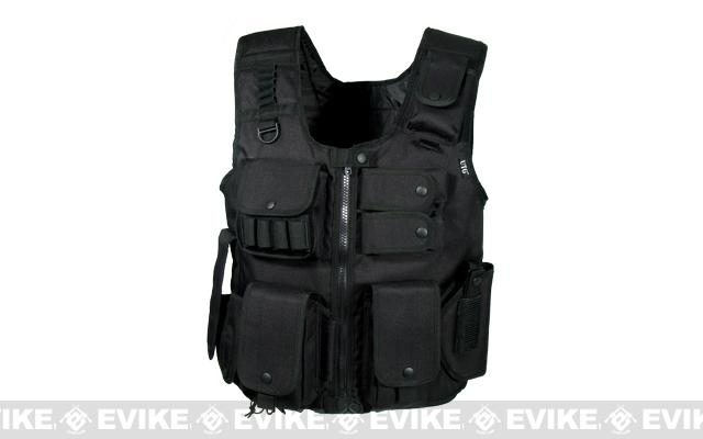 UTG Law Enforcement Tactical SWAT Vest - Black