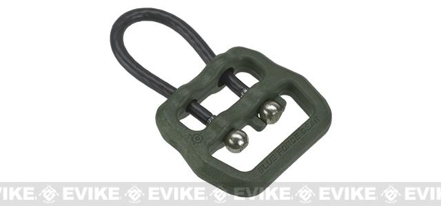 Blue Force Gear Molded Universal Wire Loop for 1 and Smaller Slings - OD Green