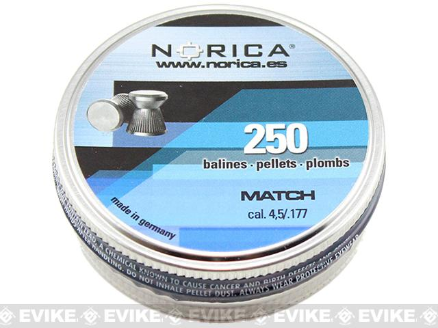 Norica .177 cal Match Pellets - 250 Count (FOR AIRGUN USE ONLY)