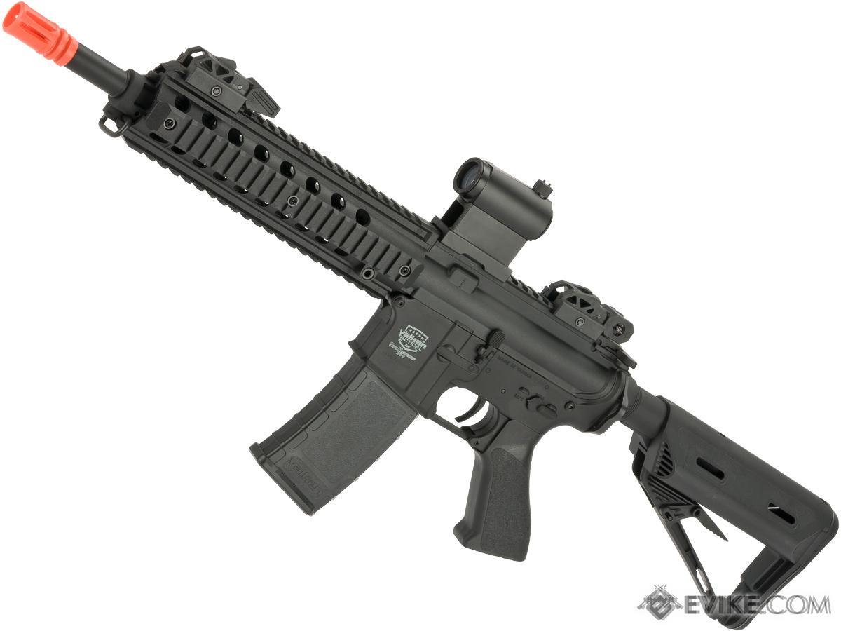 Battle Machine M4 Mod-M CQB V2 Airsoft AEG Rifle by Valken - Black