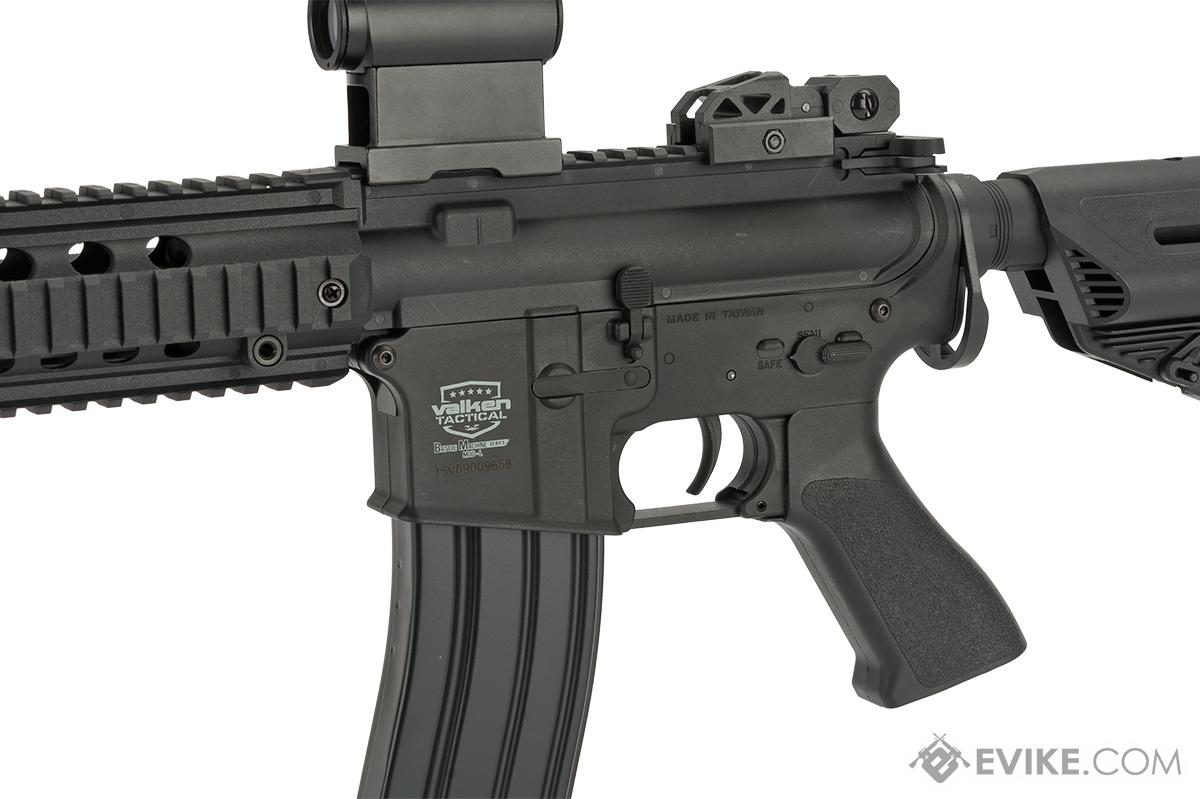 Battle Machine M4 Mod-L V2 Airsoft AEG Rifle by Valken - Black