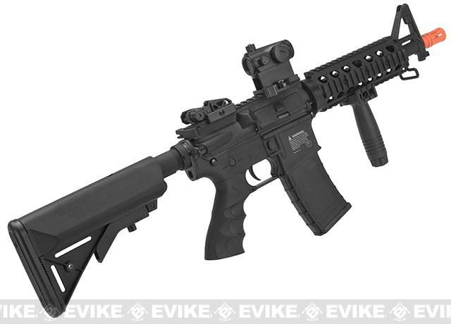 z Battle Machine M4 CQB Gen. 1 Airsoft AEG by Valken - Black