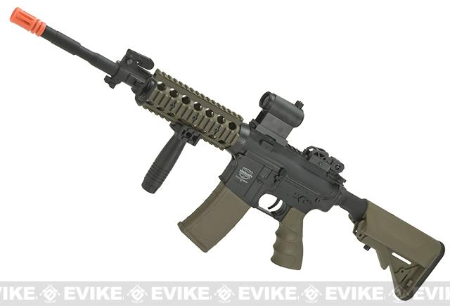 z Battle Machine M4 TTC Gen. 1 Airsoft AEG by Valken - Desert / Black