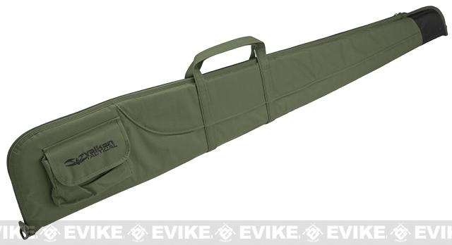 z Valken 54 Reinforced Padded Ballistic Nylon Rifle Bag - OD Green