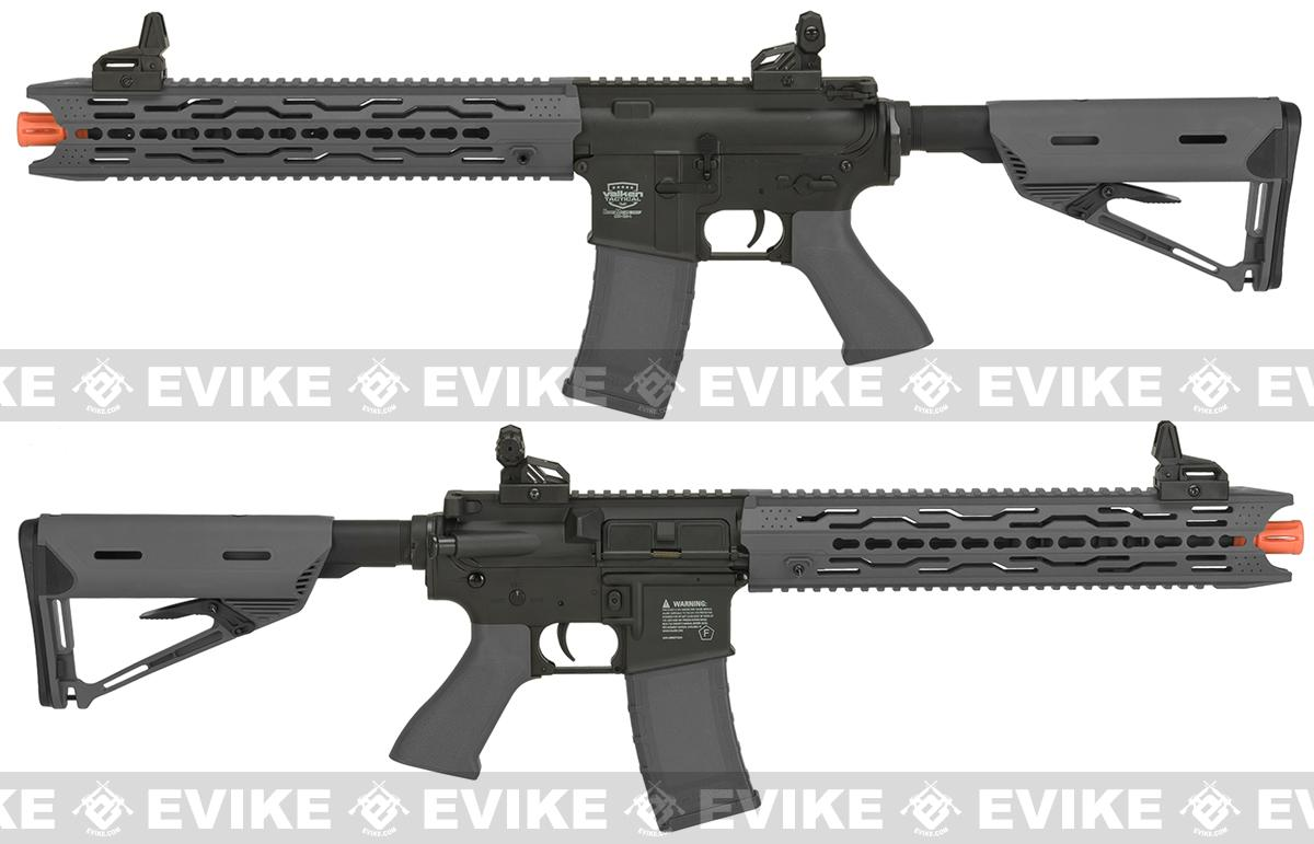 Battle Machine M4 TRG-L V2.0 Airsoft AEG Rifle by Valken - Grey