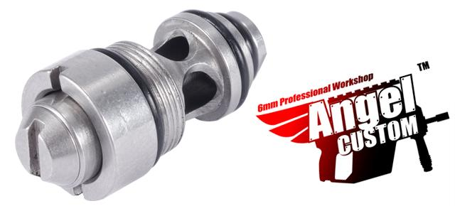Angel Custom Stainless Steel CNC High Output Valve for Marui G-Series M9 Airsoft Gas Blowback GBB Series