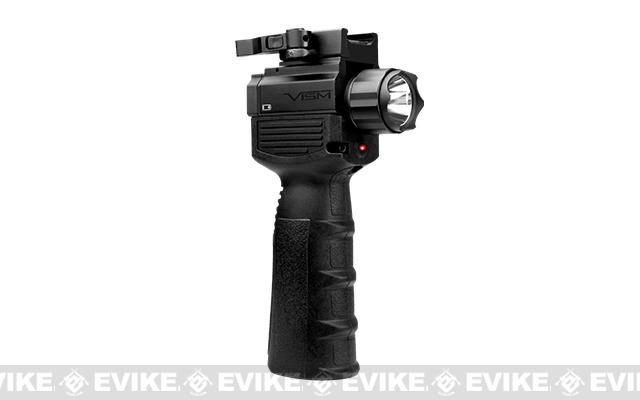 NCStar / VISM QR Vertical Grip w/ Built In Flashlight and Laser