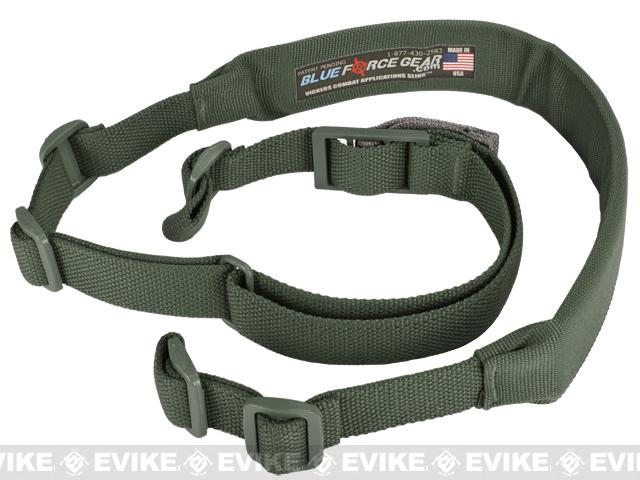 Blue Force Gear 2 Point Padded Vickers Combat Applications Sling™ - Camo/OD Green