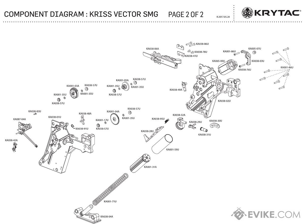 Kriss Usa Licensed Vector Airsoft Aeg Smg Rifle By Krytac Wiring Diagrams For Kob Page 2