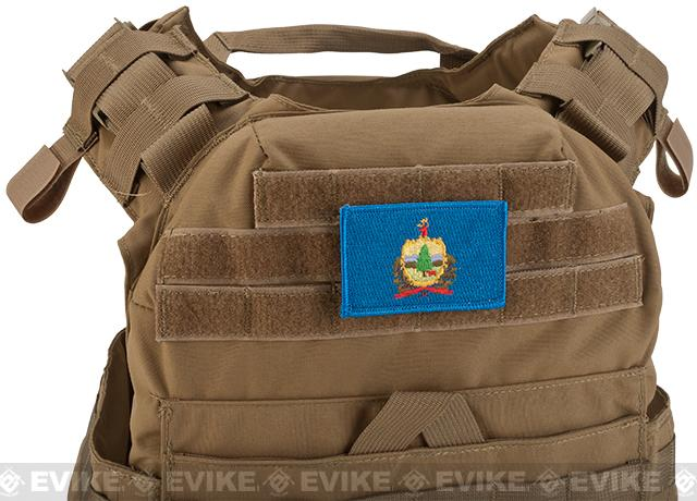Evike.com Tactical Embroidered Flag Patch (State: Vermont The Green Mountain State)