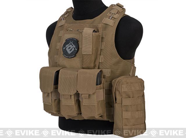 Pre-Order ETA September 2017 Avengers MOD-II Quick Release Body Armor Vest - Coyote Brown